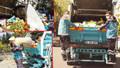 Hürriyet muhabiri kamyonla çöp topladı
