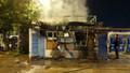 Halk Ekmek büfesini ateşe veren şüpheli yakalandı