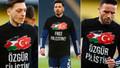 Fenerbahçeli futbolculardan Filistin'e destek