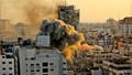 İsrail Gazze'de medya binasını vurdu!