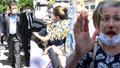 Ekrem İmamoğlu'na protestoda arbede! Makam aracına saldırdılar