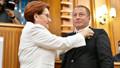 Hakan Şeref Olgun İYİ Parti'de! Rozetini Meral Akşener taktı