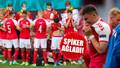 EURO 2020'de kahreden anlar! Eriksen'in kalbi durdu!