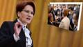 Korumalar gazetecinin gözlüğünü düşürünce Meral Akşener dönüp özür diledi!