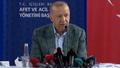 Afet bölgesine giden Erdoğan açıklamalarda bulundu