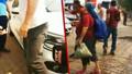 Hisarönü'nde TRT Haber ekibine saldırı