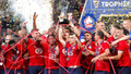 Burak Yılmaz'dan şampiyonluk asisti! PSG'yi yenen Lille Süper Kupa'nın sahibi oldu