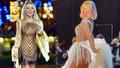 Seda Sayan'dan açık hava konserinde cesur dans! Kostümü olay oldu!