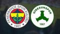 Fenerbahçe - Giresunspor maçında yangın çıktı!