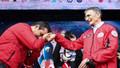Selçuk Bayraktar TEKNOFEST'te Aziz Sancar'ın elini öptü