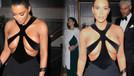Kim Kardashian'ın göğüs dekoltesi olay oldu!