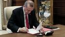 Erdoğan imzaladı, Resmi Gazete'de yayınlandı