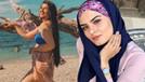 Gelin adayı Hanife'den bikinili mesaj