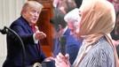 Trump Sabah yazarı Hilal Kaplan'a takıldı!