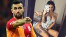 Sosyal medya güzeli ünlü futbolcuyu ifşa etti