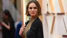 Natalie Portman'dan Oscar'a ceketli protesto