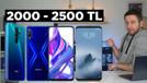 2000 - 2500 TL arası telefon satın alma rehberi