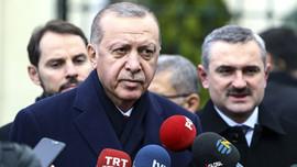 Erdoğan'dan muhabire: Kim soracak abi?