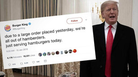 Burger King, ABD Başkanı Trump'ı ti'ye aldı!