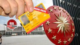 Cumhurbaşkanlığı duyurdu: Basın kartları değişiyor