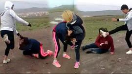 Kızları iç çamaşırlarına kadar soyup dövmüştü!
