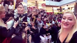 Zahide Yetiş'e Adana'da zılgıtlı karşılama!