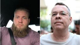 Yeni Zelanda katliamcısı Brunson bağlantılı çıktı!