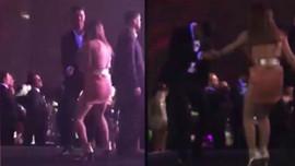 Danla Bilic ve sevgilisinden olay dans