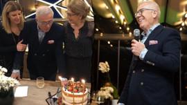 'Orta yaşlı' Özkök 72'nci yaşını kutladı!