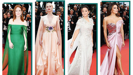 72. Cannes Film Festivali'nde şıklık yarışı!