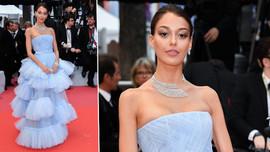 Dilan Çiçek Deniz Cannes'ı büyüledi! Servet taşıdı