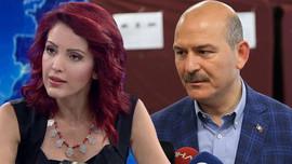 Süleyman Soylu'dan Nagehan Alçı'ya tepki