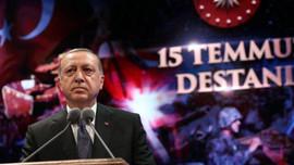 Cumhurbaşkanı Erdoğan'dan 15 Temmuz mesajı