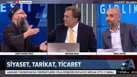 Cübbeli Ahmet canlı yayında Saymaz'a sinir oldu