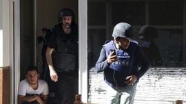 Akçakale'de yine gazeteciler hedef alındı