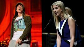 """Şarkıcı Eminem'e """"Ivanka Trump"""" sorgusu"""