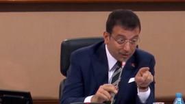 İBB Meclisi'nde İmamoğlu'nu kızdırdılar!