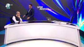 A Spor canlı yayında şok
