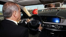 Cumhurbaşkanı Erdoğan'ın limuzini emekli oldu