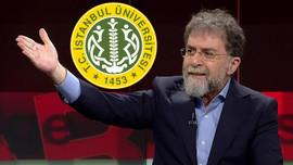 Ahmet Hakan'dan İstanbul Üniversitesi tepkisi