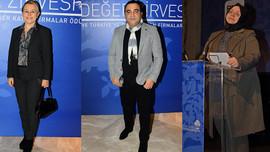 Türkiye'nin değerleri ödül töreninde buluştu