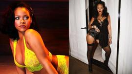 Rihanna'dan iç çamaşırlarıyla cesur pozlar