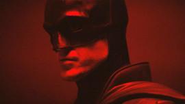 Robert Pattinson'ın Batman kostümüyle...