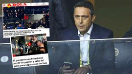Dünya basını Ali Koç'u konuşuyor!