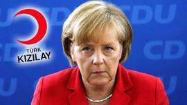 Merkel, Kızılay'a şartlı bağış yapmış!