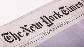 NYT köşe yazısında sosyal mesafe uyguladı!