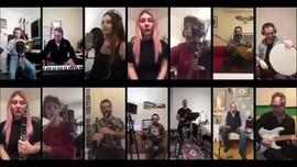 İBB Orkestraları'ndan 'Evde Kal' şarkısı