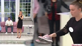 Esra Erol'da ayakkabıları önüne atıp gitti