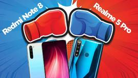 Pil Düellosu: Redmi Note 8 vs Realme 5 Pro