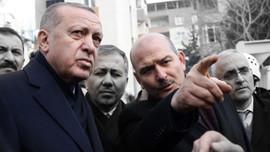 Soylu istifadan önce Erdoğan'la görüştü